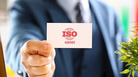 "AGGIORNAMENTO SAFETY EXPERIENCE ""ISO 45001"""